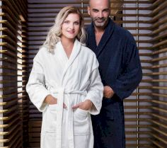 COMO VELOURS BATH ROBE TO3523 30S.JZ.023