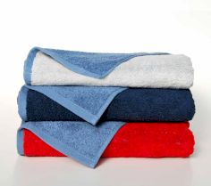 DOUBLE-COLOUR HAND TOWEL DB50X100 30R.BD.062