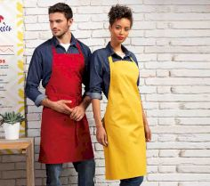 COLOURS COLLECTION BIB APRON PR150 30F.PR.205