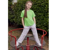 KIDS` LIGHTWEIGHT OPEN HEM JOG PANTS 64-005-0 30D.FL.262