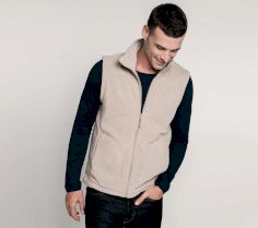 LUCA - ZIP THROUGH MICRO FLEECE GILET K913 30H.KA.263
