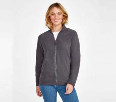 WOMEN`S PLAIN FLEECE JACKET NORMAN 02094 30N.SL.266